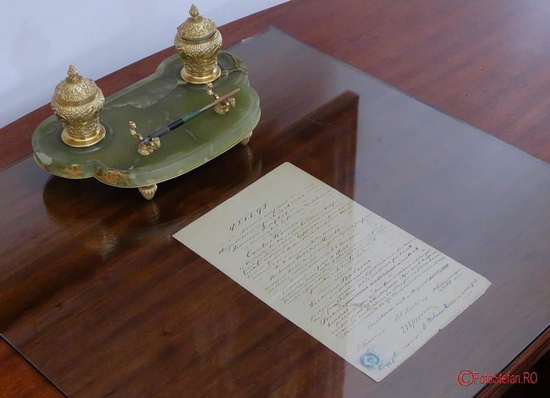 fotografii interior muzeul Victor Babes medicina