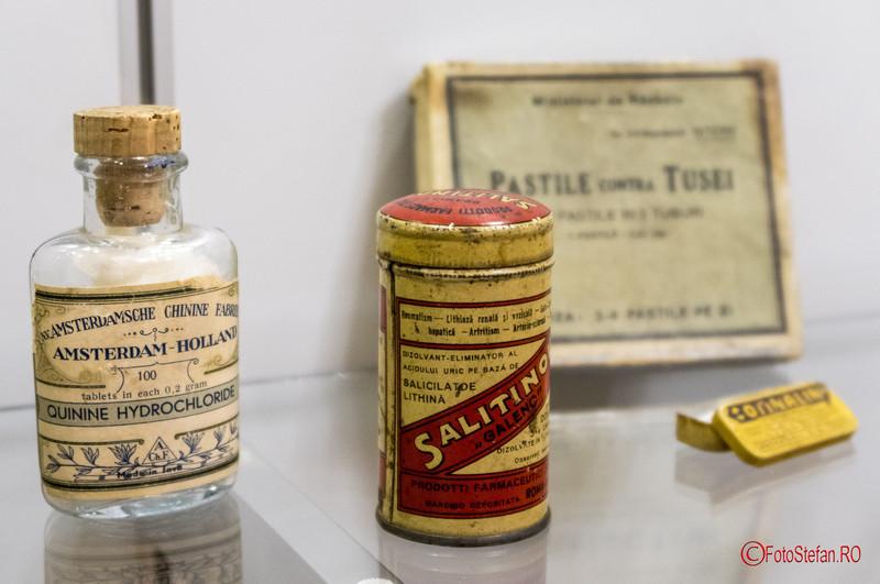 poze exponate muzeul medicinei romanesti muzeul Victor Babes Bucuresti