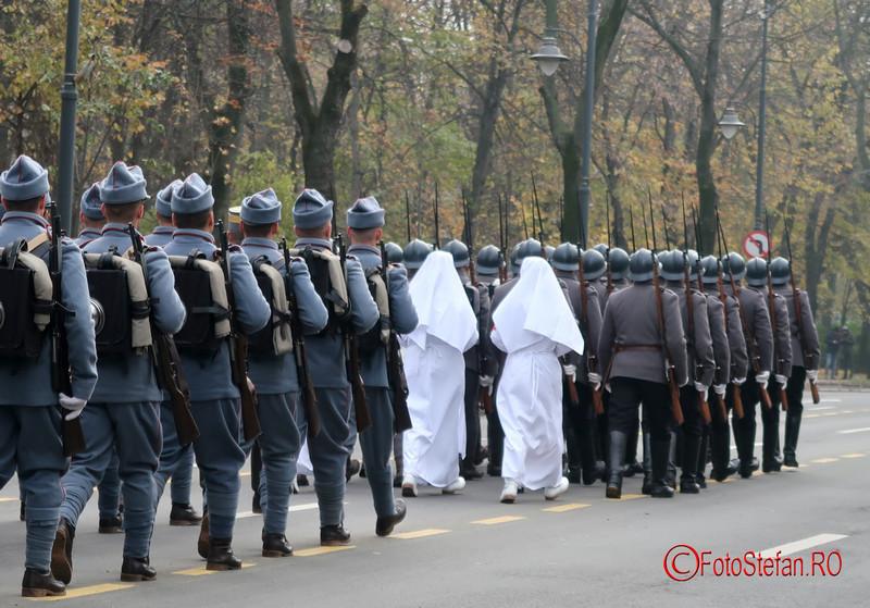 parada militara soldati reenactment bucuresti
