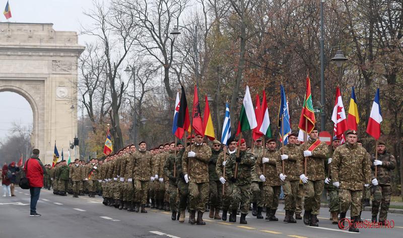 parada militara fotografii bucuresti ziua nationala romania