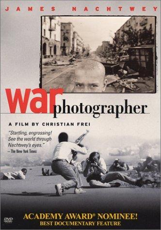 James Nachtwey war photographer movie poster