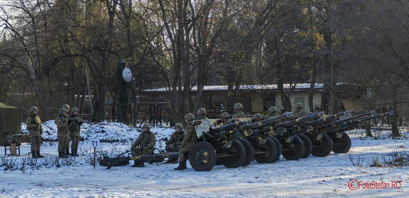 """21 salve tun fotografii bateria de artilerie a Brigăzii 30 Gardă ,,Mihai Viteazul"""""""
