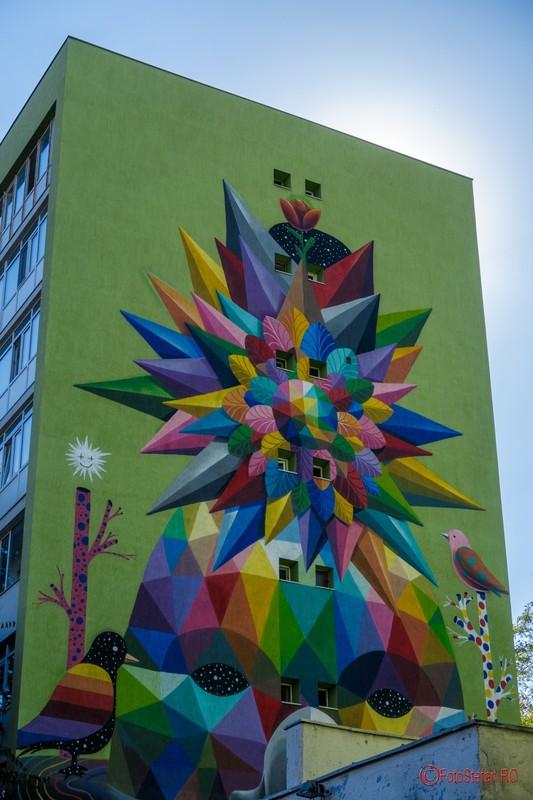 poza graffiti bloc dimitrie cantemir bucuresti romania