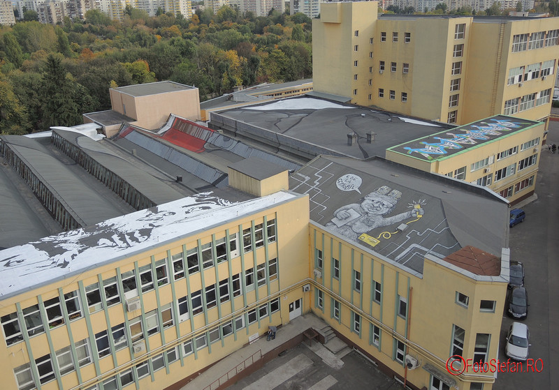 poze graffiti uriasi de pantelimon turnul de apa