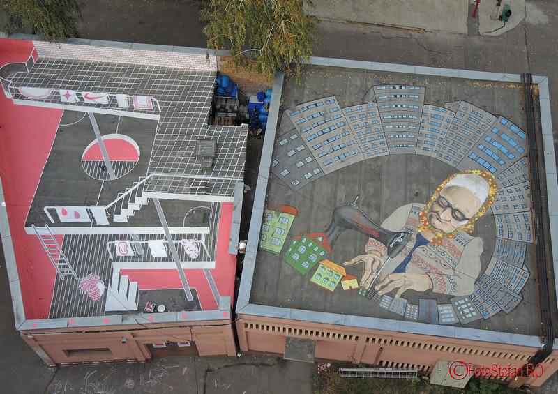 poze fotografii graffiti uriasi pantelimon bucuresti