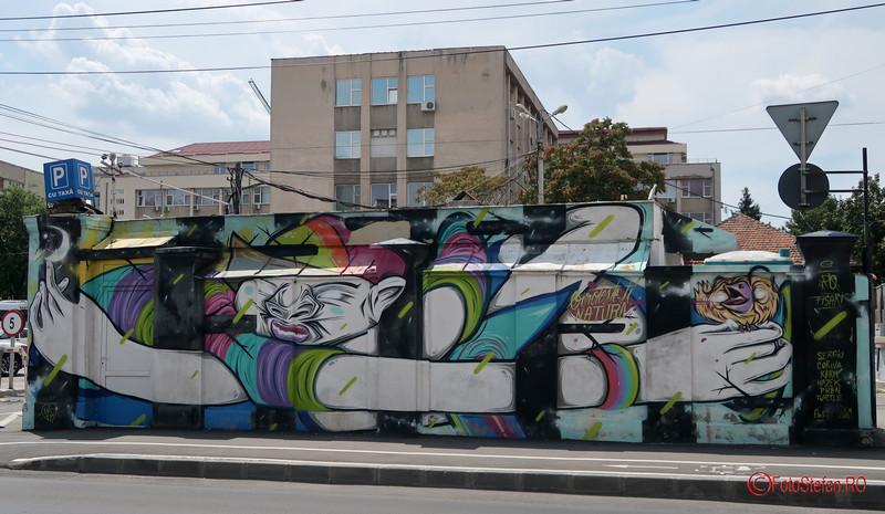 arta urbana Timisoara poze graffiti romania