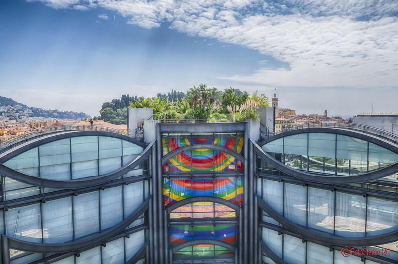 Muzeul de arta Nisa poze obiectiv turistic franta fotografi terasa