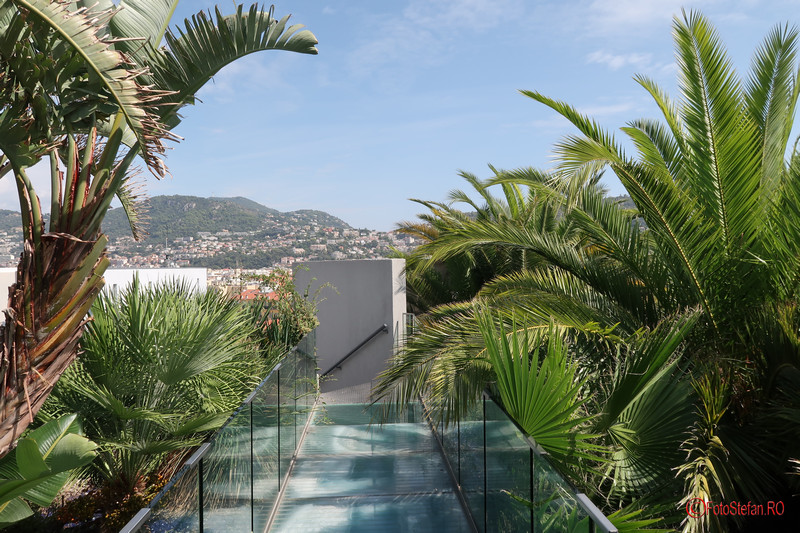 poze Muzeul de arta contemporana si moderna din Nisa obiectiv turistic fotografii