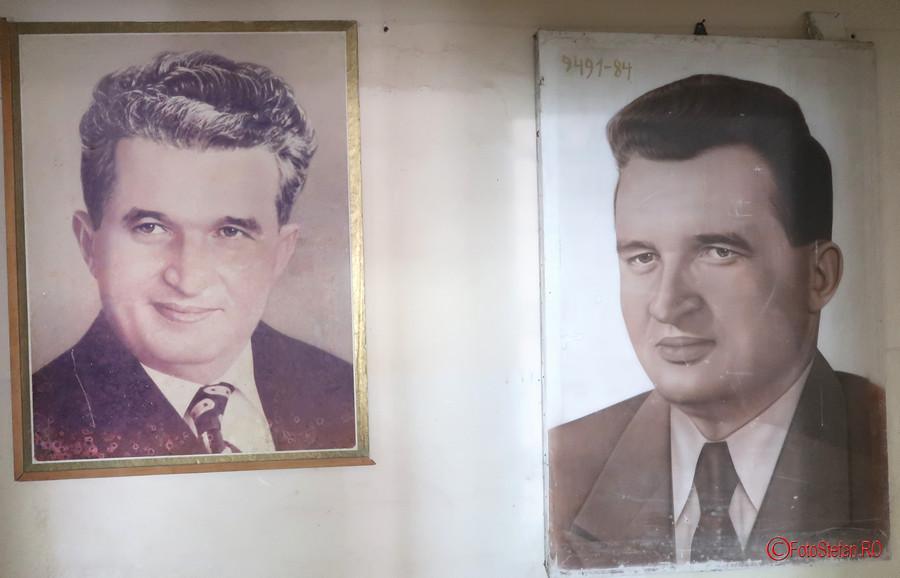 poze ceausescu cultul personalitatii muzeul Memorialul Revolutiei Timisoara