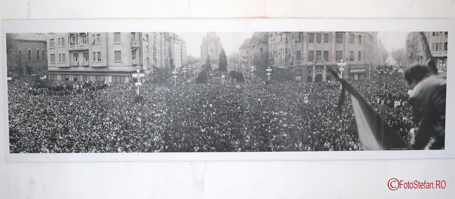 fotografii muzeul Memorialul Revolutiei Timisoara romania decembrie 1989