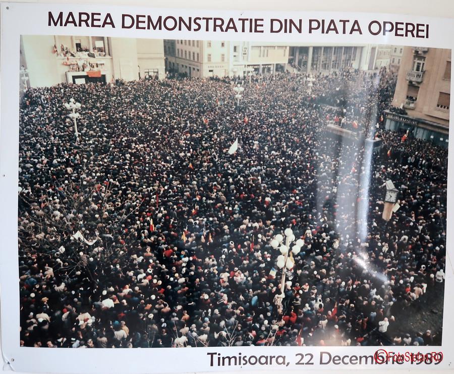 poze muzeul Memorialul Revolutiei Timisoara revolutie decembrie 1989