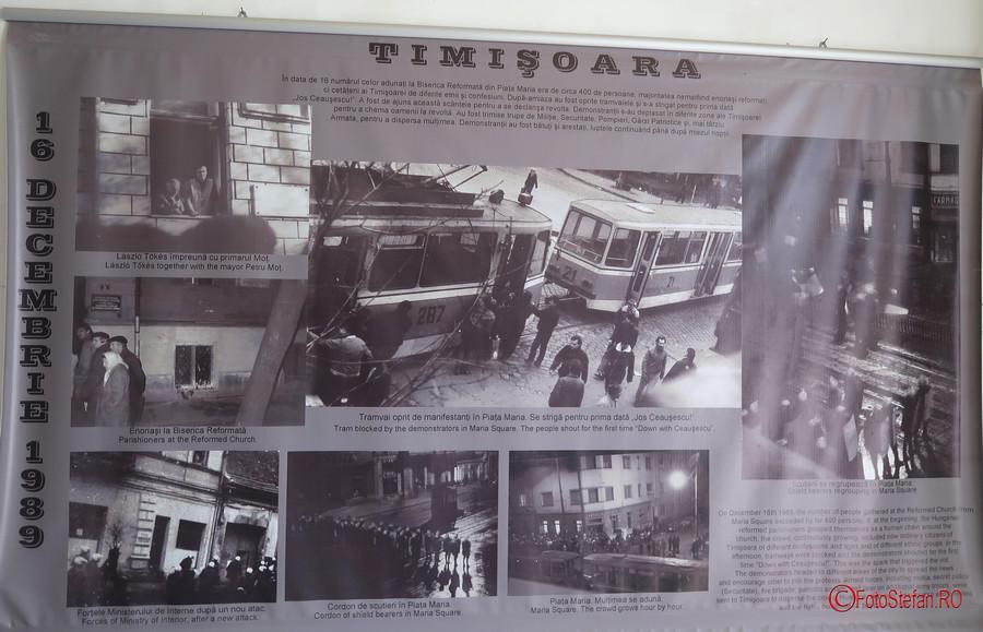 poza fotografie Traseul Revolutiei Timisoara Romania