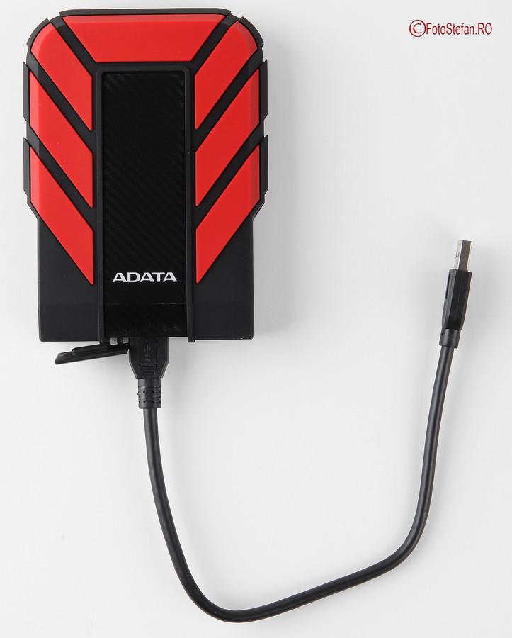 poza HDD Extern ADATA Durable HD710 Pro 4TB cablu usb 3.1