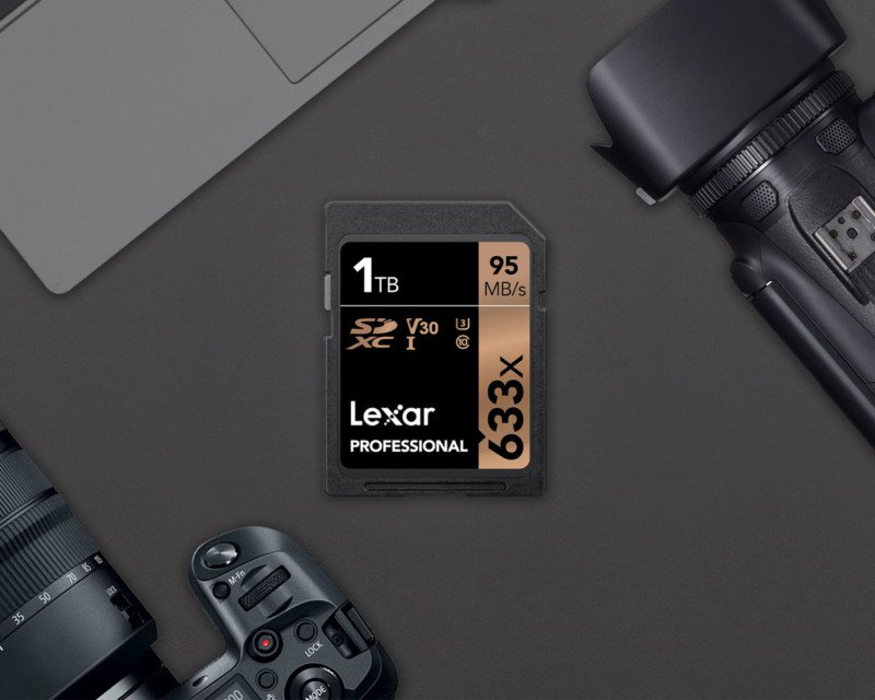 poza Lexar Professional 1TB 633X SDXC UHS-I