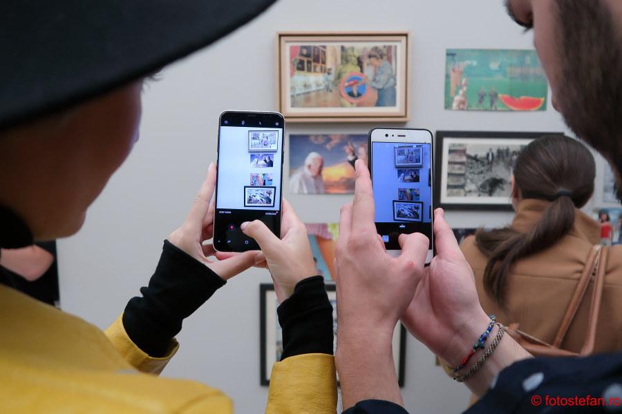 fotografii calatorie smartphone muzeu bucuresti