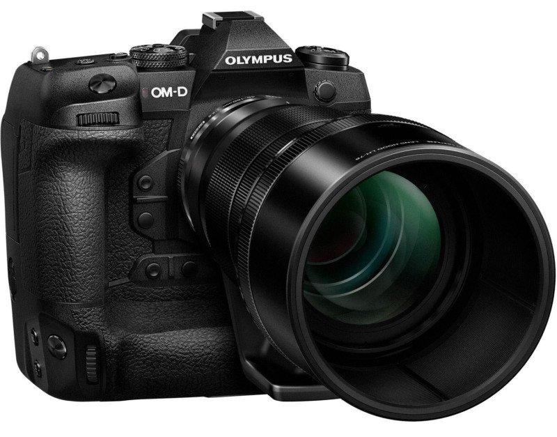Olympus E-M1X poza aparat foto mirrorless performant webcam