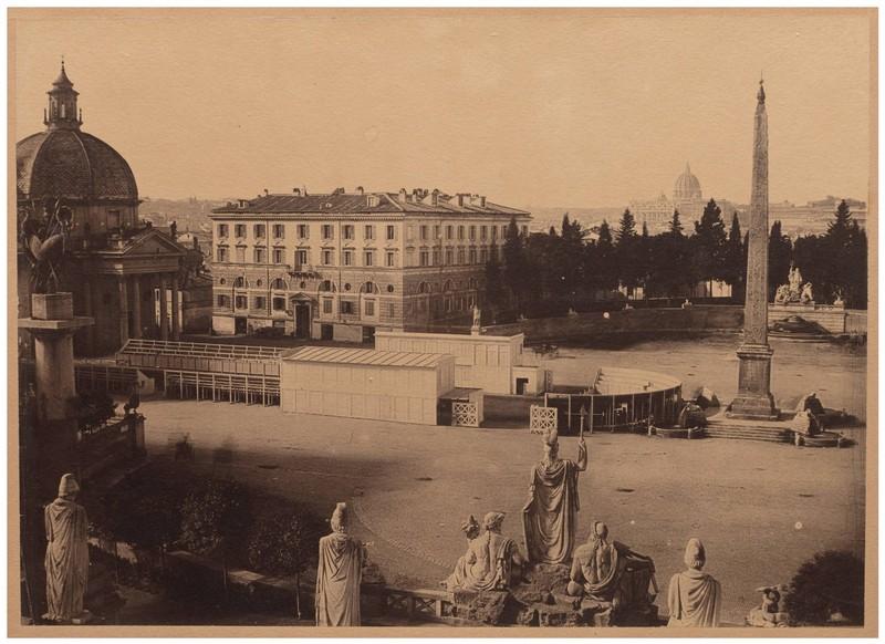 Piazza del Popolo Rome italy free photo fotografie gratuita roma piata