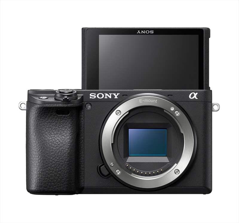 Sony A6400 poza lcd selfie aparat foto mirroless