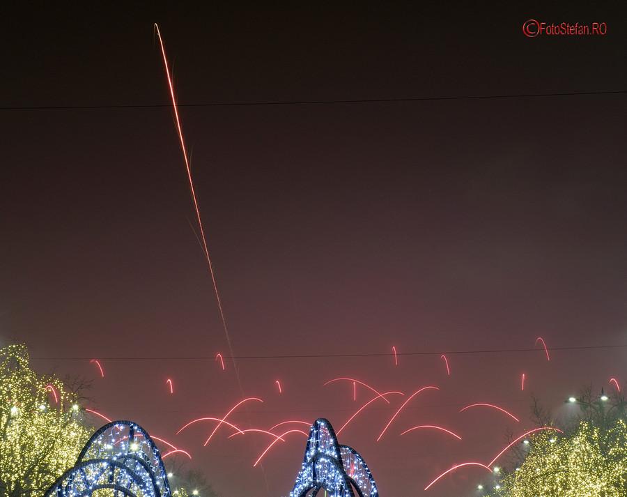 poze fotografii Artificii revelion 2019 Bucuresti piata constitutiei