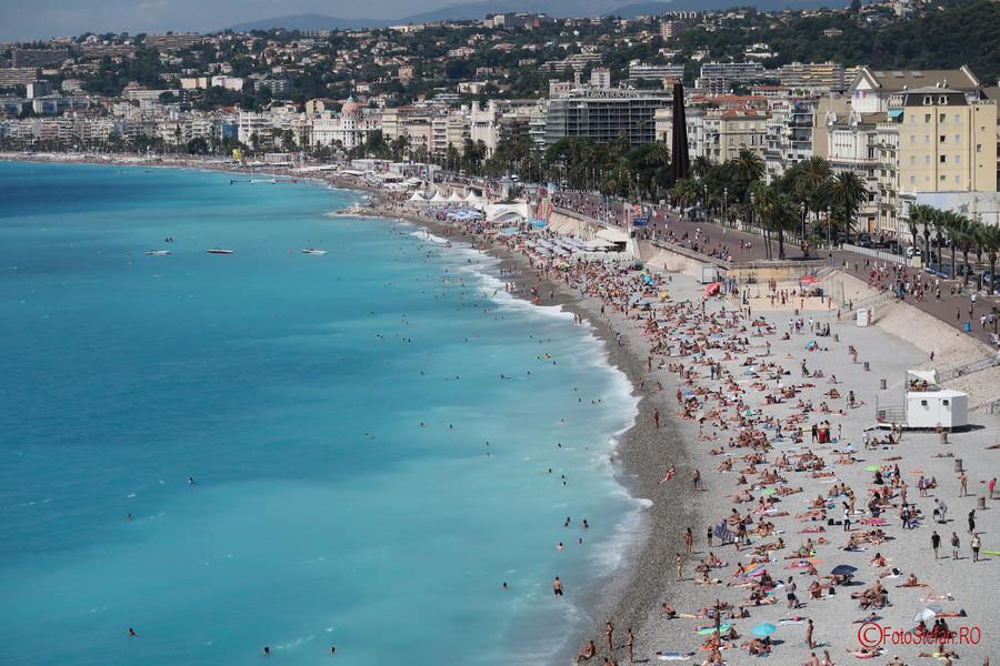 poza plaja nisa franta fotografii Promenade des Anglais