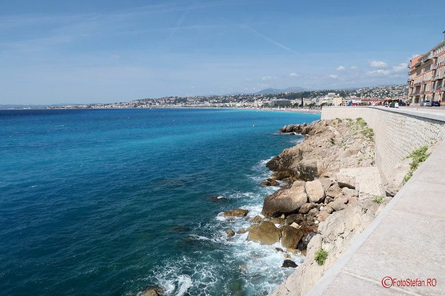 City break la Nisa poze fotografie plaja mare coasta de azur