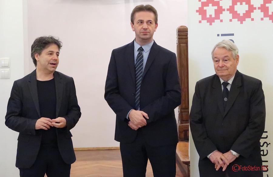 poza vernisaj expozitie borsec Kósa András László Farkas Aladár Mik József institutul balassi