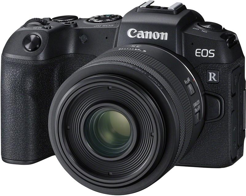 Canon EOS RP poza aparat foto mirrorless full-frame