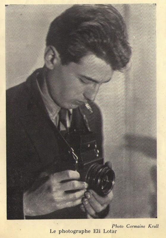 Eli Lotar fotografie portret fotograf fiul Tudor Arghezi