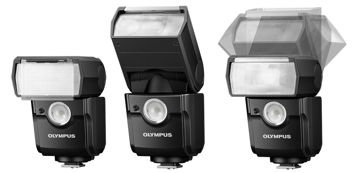 Olympus FL-700WR blit extern wireless led videograf poza