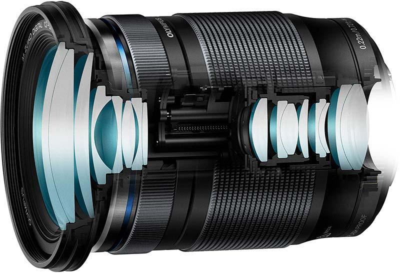 poza lentile obiectiv zoom Olympus M.Zuiko Digital ED 12-200mm F3.5-6.3