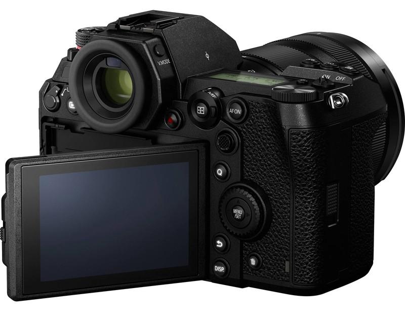 poza lcd mobil aparat foto mirrorless Panasonic Lumix S1
