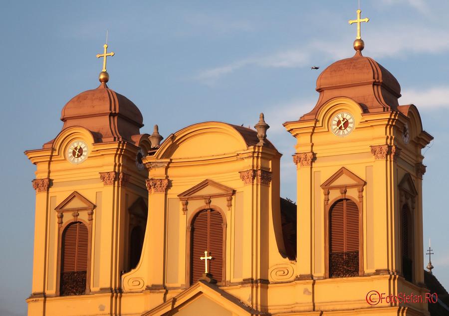 poza drona domnul catolic timisoara piata unirii fotografii