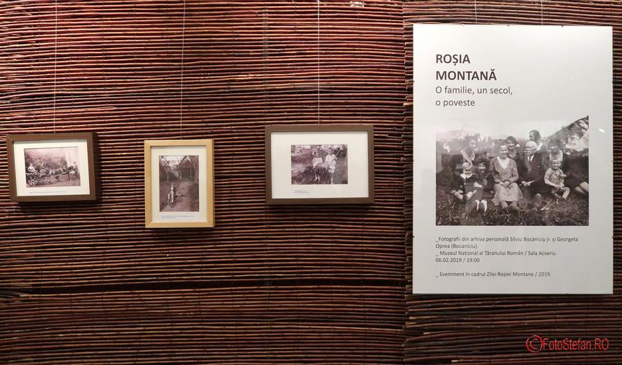 Rosia Montana fotografii poze alb negru muzeul taranului roman bucuresti