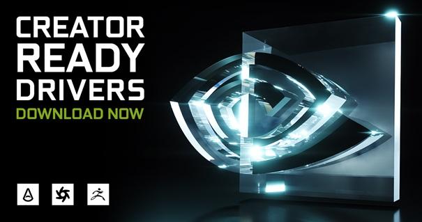 NVIDIA RTX driver Creator Ready