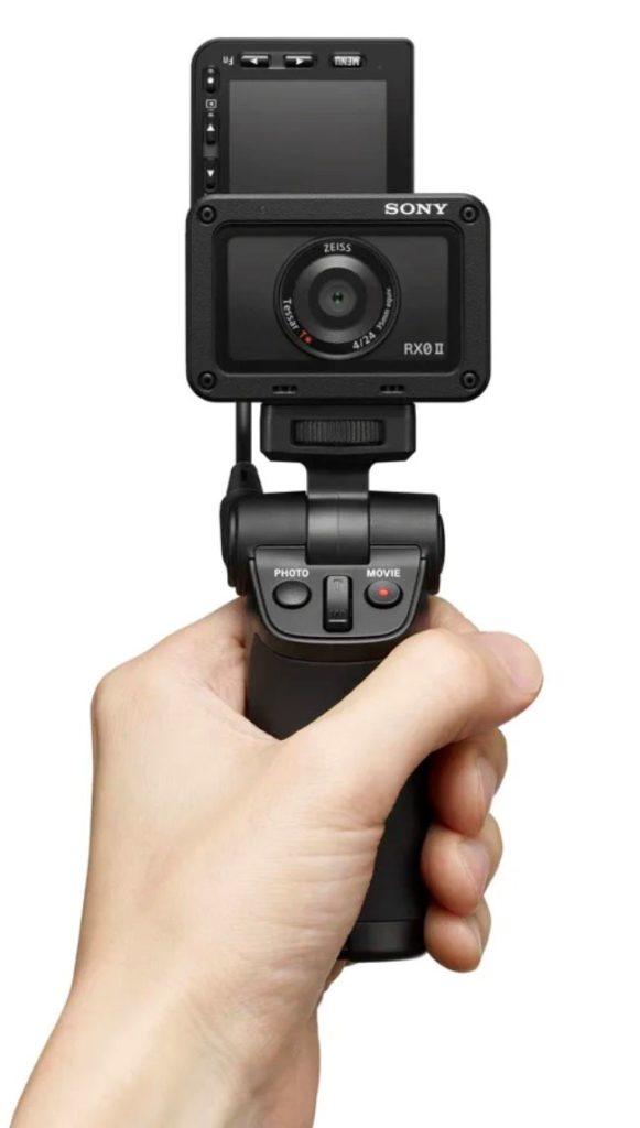Sony Cybershot DSC-RX0 II camera actiune rezistenta grip