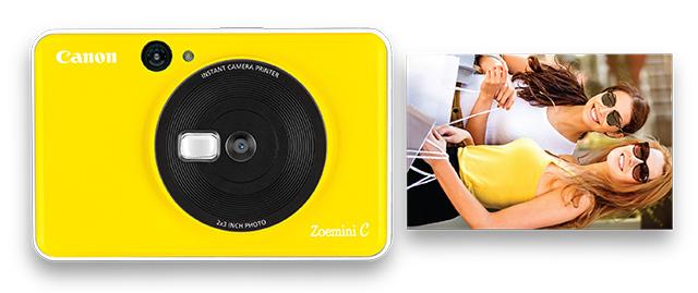 Canon Zoemini C aparat foto compact imprimanta portabila zink