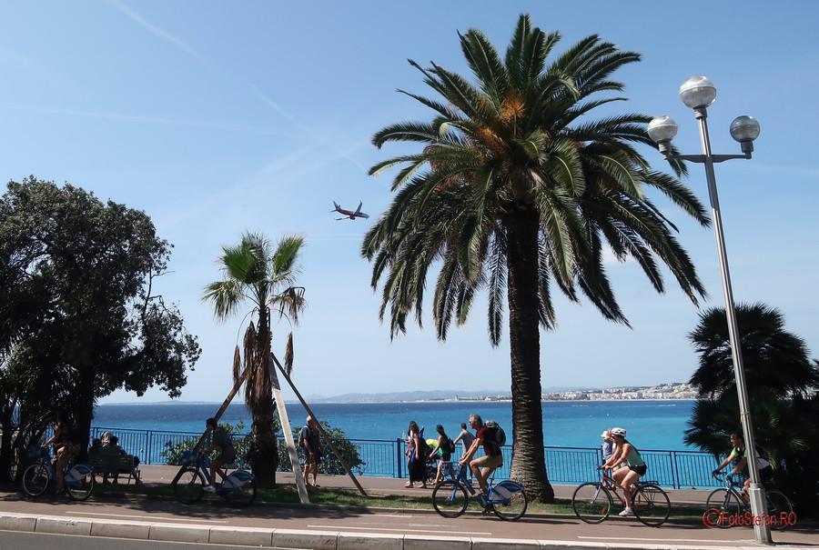 Plane Spotting Promenade des Anglais Nice France photos
