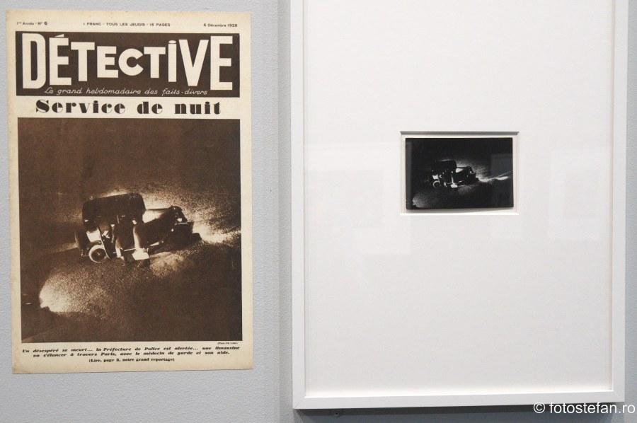 poze alb negru Expozitia Eli Lotar Muzeul Colectiilor de Arta Bucuresti