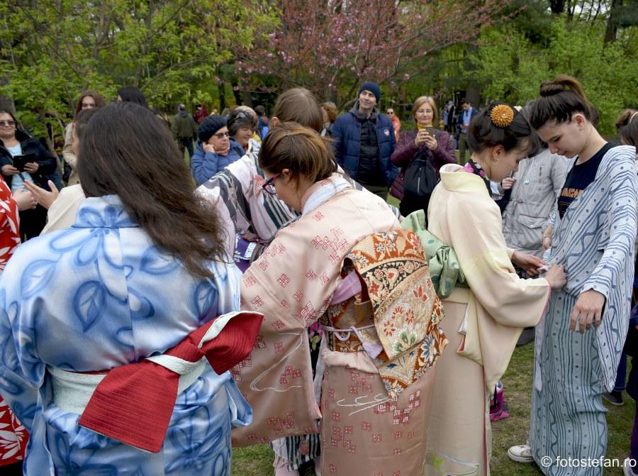 poze fete kimono gradina japoneza herastrau bucuresti hanami