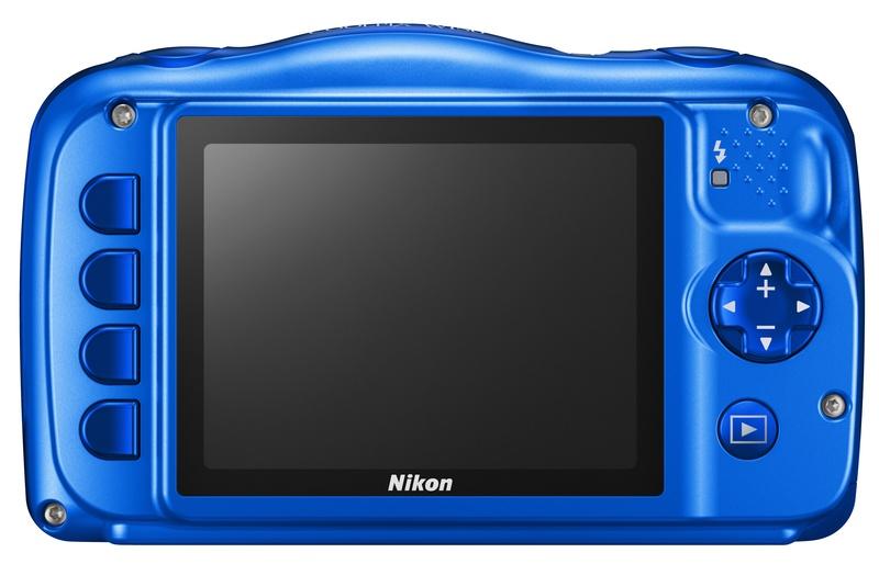 poza lcd aparat foto compact rezistent Nikon COOLPIX W150