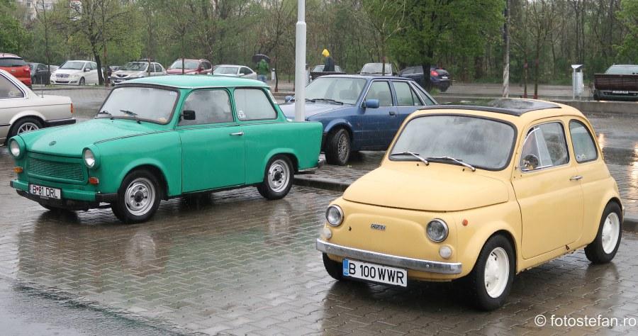 poze masini clasice ploaie bucuresti