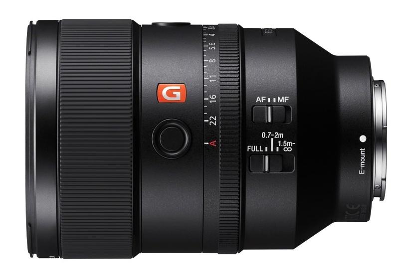 poza obiectiv Sony FE 135mm f/1.8 GM