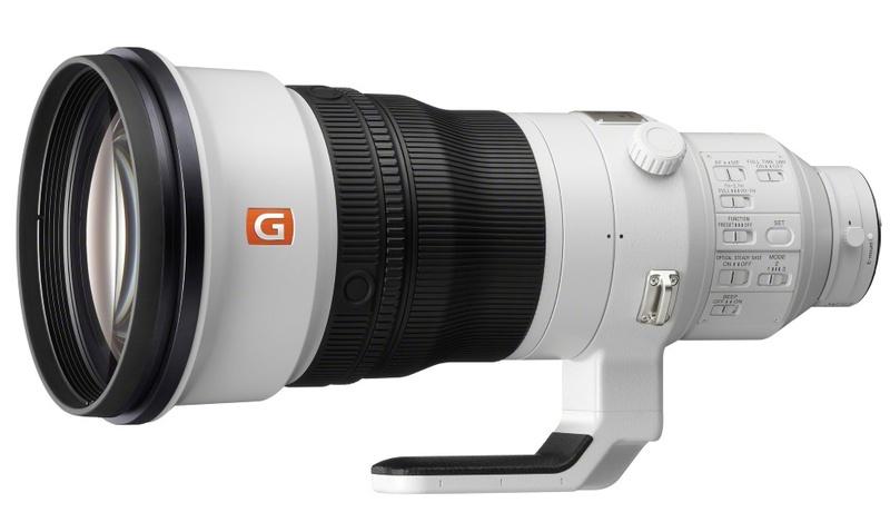 poza obiectiv zoom Sony FE 400mm F2.8 model sel400f28gm