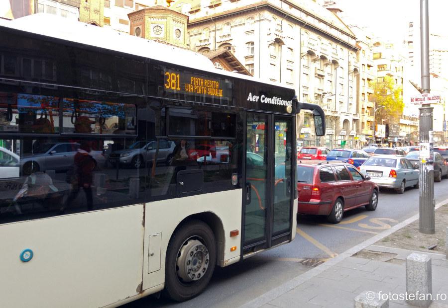 poza autobuz mercedes 381 bucuresti stb