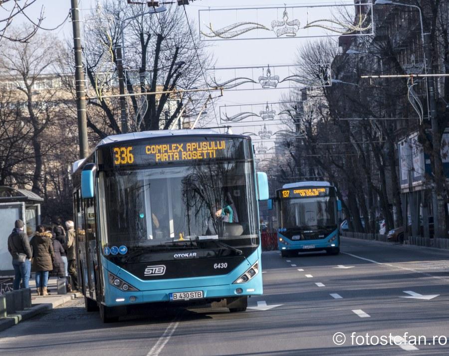 poza otokar autobuz stb bucuresti romania