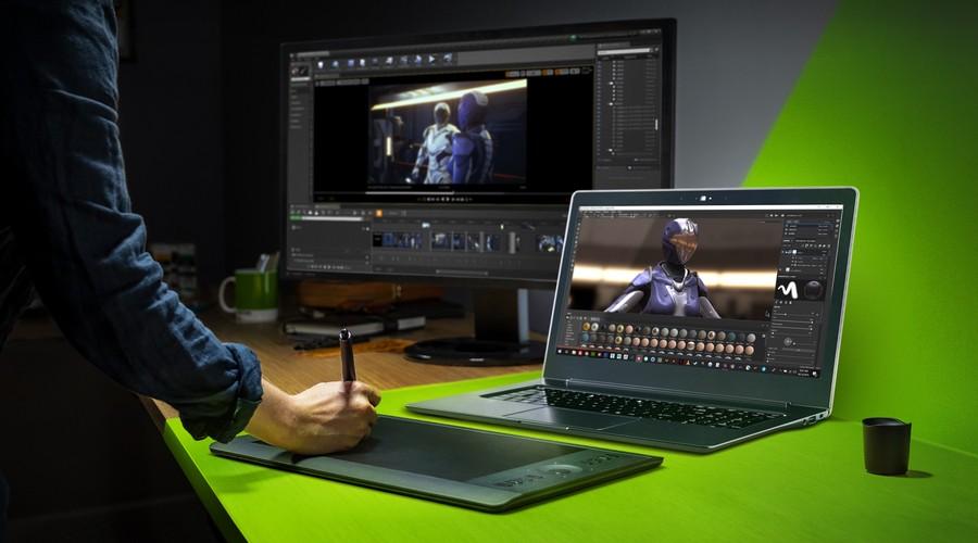 NVIDIA Studio laptop RTX