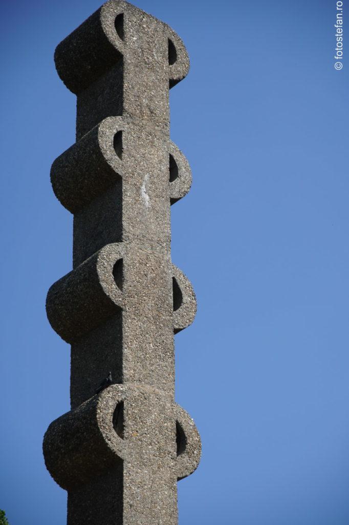 poza columna monument herastrau