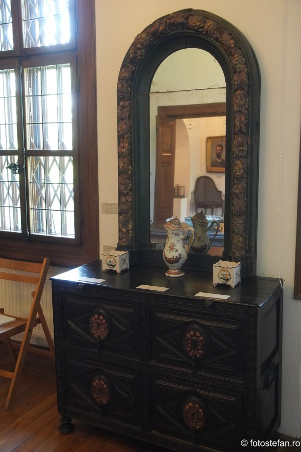 poza oglinda arta Muzeul Theodor Pallady casa melik