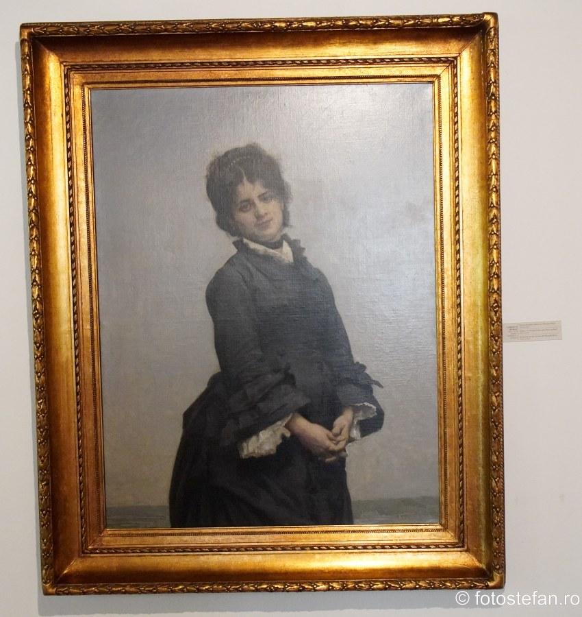 poza tablou portret mama gheorghe raut casa melik