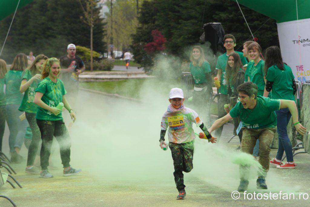 alergare 5 km bucuresti romania vant nor praf